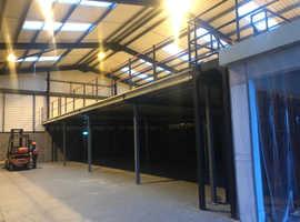 Mezzanine Floor 4m x 4m