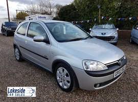 Vauxhall Corsa SXI 1.2 Litre 3 Door Hatchback, Full Service History, New MOT, Cheap Insurance Group.