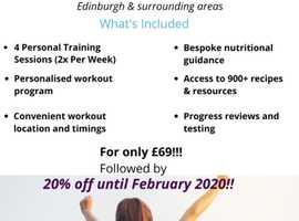 Mobile Personal Training - Edinburgh