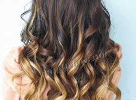 Skin weft (tape) hair extensions
