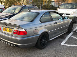 BMW 3 Series, 2005 (05) Grey Coupe, Automatic Petrol, 149,500 miles