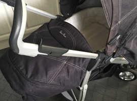 Silver Cross 3D Travel System Pram Car Seat