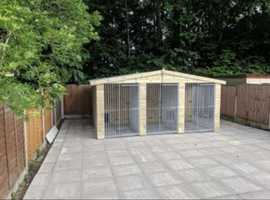 7 month old kennels reduced price