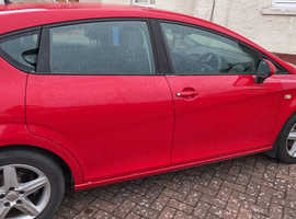 Seat Leon, 2009 (59) Red Hatchback, Manual Petrol, 124,259 miles
