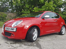 Alfa Romeo Mito, 2014 (64) red hatchback, Manual Diesel, 72,000 miles