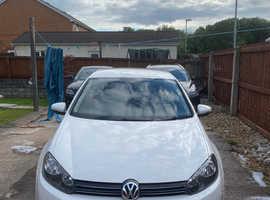 Volkswagen Golf, 2012 (12) White Hatchback, Manual Petrol, 86,000 miles