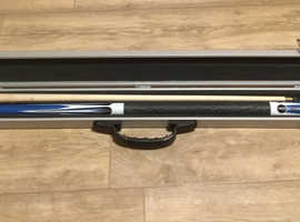 2pc pool cue with case