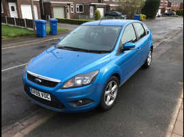 Ford Focus, 2009 (59) Blue Hatchback, Automatic Petrol, 48,000 miles