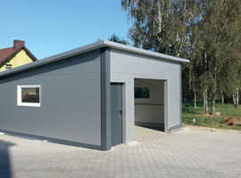 Metal Garages - Buildings  Made To Any Size
