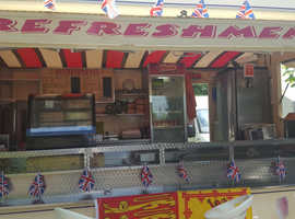 14FT Catering trailer\Burger Van in excellent condition for sale