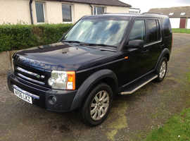 Land Rover Discovery, 2006 (06) Blue Estate, Automatic Diesel, 112,199 miles