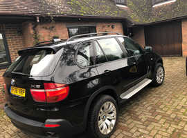 BMW X5, 2008 (08) Black Estate, Automatic Diesel, 133,000 miles
