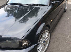 BMW 325Ci  Black Coupe