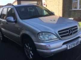 Mercedes Ml430, 2000 (V), Automatic Petrol, 144,000 miles