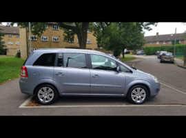 Vauxhall Zafira, 2010 (60) Silver MPV, Manual Petrol, 90,000 miles