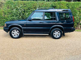 Land Rover Discovery, 2004 (04) Blue Estate, Manual Diesel, 73,100 miles