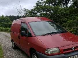 Citroen dispatch 3 seater