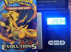 Pokemon XY Evolutions booster packs