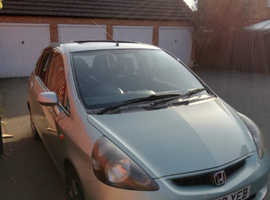 Honda Jazz, 2003 (53) Green Hatchback, Manual Petrol, 162,292 miles