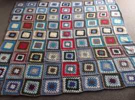 New Handmade Crochet Throw