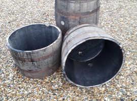 Whisky Barrels for sale... Whole + Halves