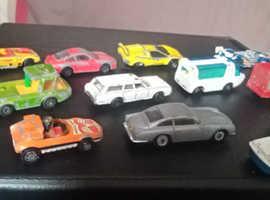 Die cast cars vintage corgi / lesney