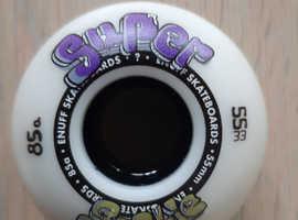 Skateboard wheels --4 as new
