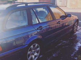 BMW 3 Series, 2002 (52) Blue Estate, Manual Petrol, 129,000 miles