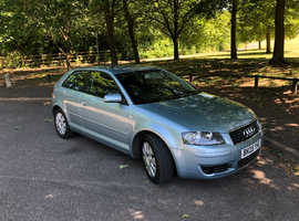 Audi A3, 2005 (05) Blue Hatchback, Manual Petrol, 111,000 miles