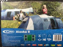 Gelert 'Alaska' 8 Tent & accessories