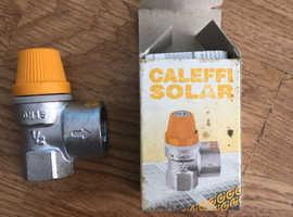 Caleffi Solar Pressure valve  1/2 inch 6 bar