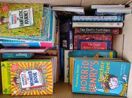 Large Box of children's books