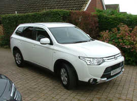 Mitsubishi Outlander Van, 2015 (65) White 4x4, Manual Diesel,