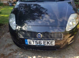 Fiat Grande Punto, 2007 (56) Black Hatchback, Manual Petrol, 122,731 miles