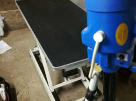dog grooming table, dryer and sterilizer for sale   £850
