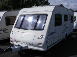 2007 Elddis Odyssey 505, quality 5 berth caravan, awning, free extras, ready to use