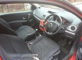 Renault Clio, 2005 (55) red hatchback, Manual Petrol, 99,000 miles