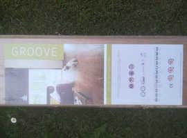 Groove Laminate 9mm Flooring (Warm Oak)