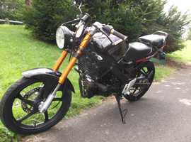 Lexmoto XTRS 125 custom, new MOT