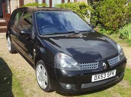 Renault Clio, 2003 (53) Black Hatchback, Manual Petrol, 92,091 miles