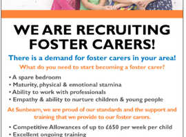 We are recruiting foster carers in Ealing and surrounding areas!