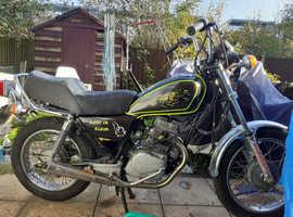 Honda cm 125 custom cruiser motorbike