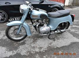 Triumph 3TA 21 350 twin 1961