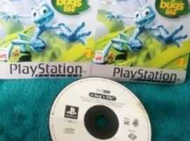 PS1 Disney A Bugs Life Game