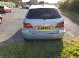 Mercedes B-CLASS, 2006 (06) Silver Hatchback, Manual Petrol, 106,500 miles