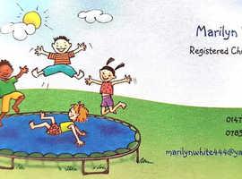 Outstanding registered childminder