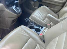 Honda CR-V, 2008 (08) Black Estate, Automatic Petrol, 101,000 miles