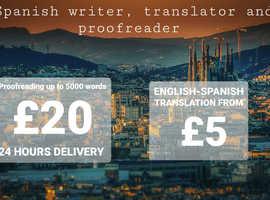 English - Spanish translation