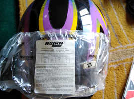 Motorcycle helmet as new condition small