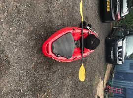 Moken 10 fishing kayak